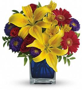 Blue caribbean jans florist shop blue caribbean mightylinksfo
