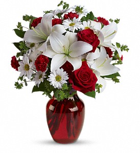 Jans florist shop in saratoga springs ny be my love bouquet with red roses mightylinksfo