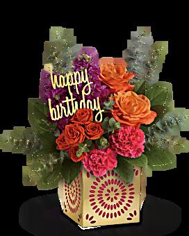 Sparkle birthday jans florist shop sparkle birthday mightylinksfo